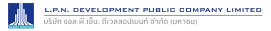 L.P.N Development Public Company Limited in Bangkok